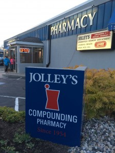 Jolley's storefront - 60 years